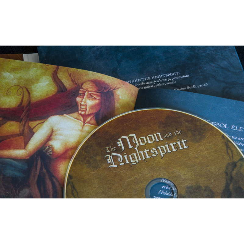 The Moon And The Nightspirit - Rego Rejtem CD Digipak
