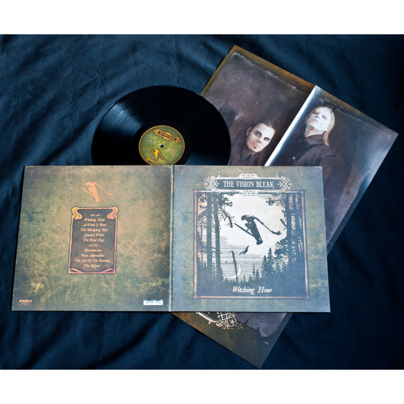 The Vision Bleak - Witching Hour Vinyl Gatefold LP  |  Black