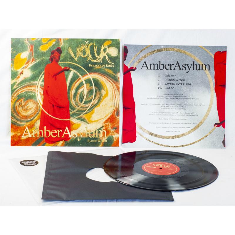 Völur - Breaker Of Rings / Blood Witch (Völur / Amber Asylum) Vinyl LP  |  Black