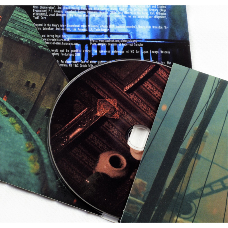 A Forest Of Stars - Grave Mounds And Grave Mistakes CD Digisleeve