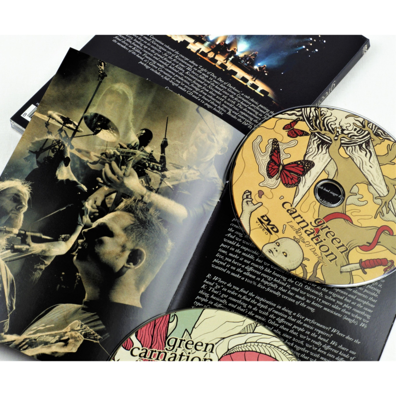 Green Carnation - Last Day Of Darkness DVD+CD Digipak