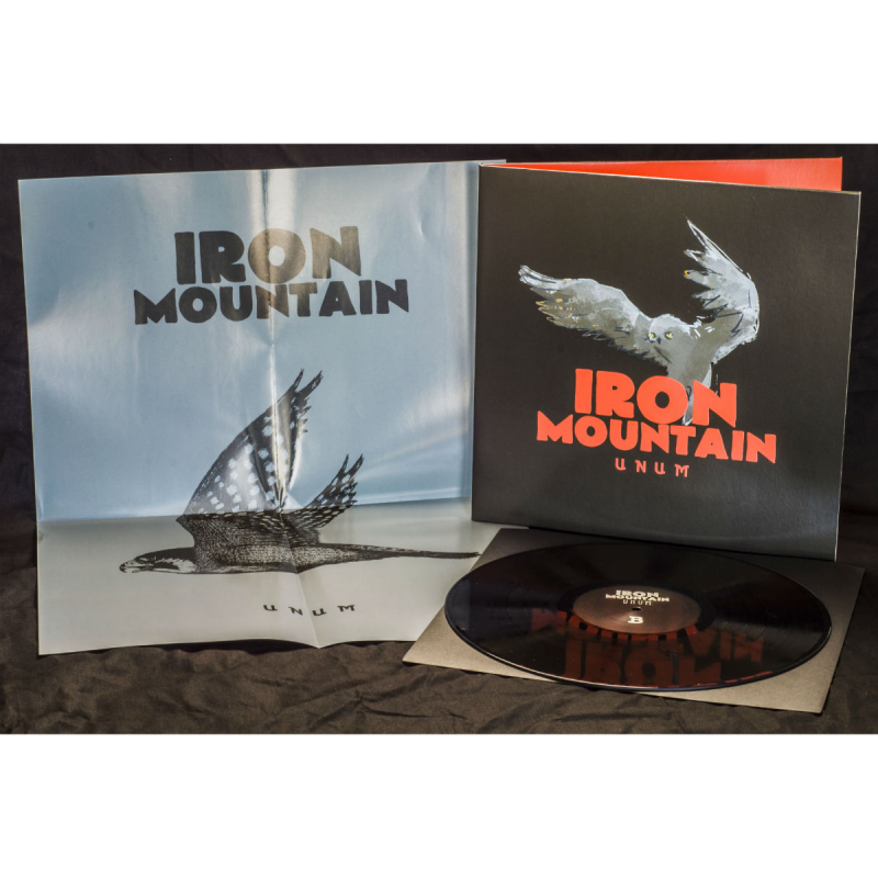 Iron Mountain - Unum Vinyl Gatefold LP  |  black