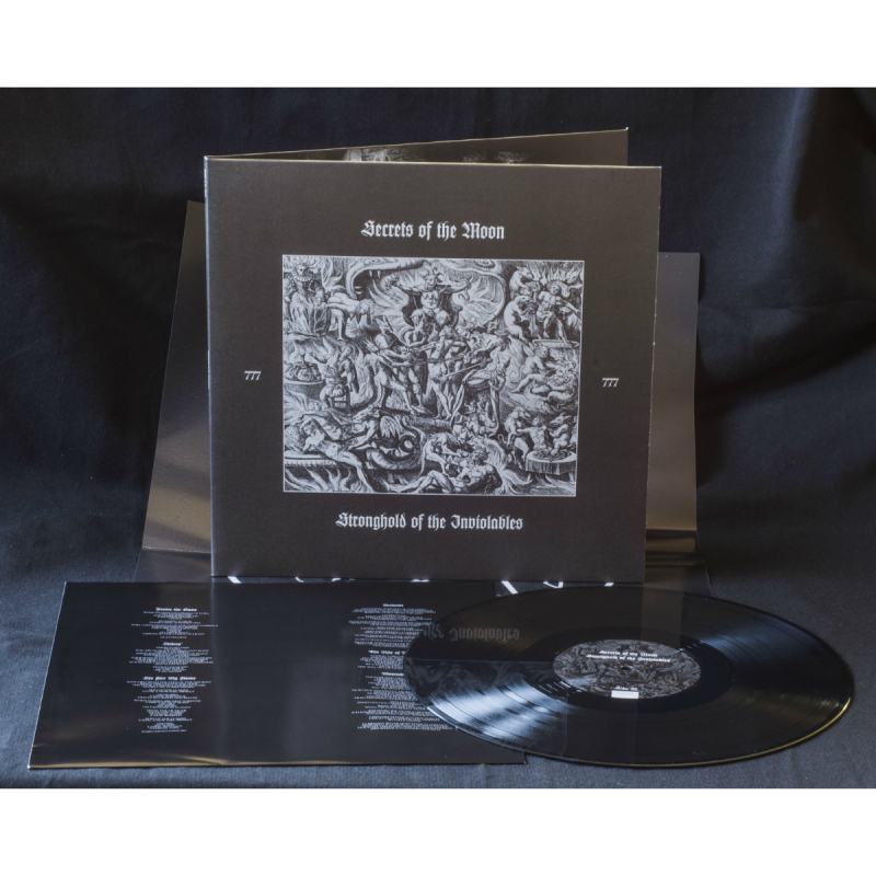 Secrets Of The Moon - Stronghold Of The Inviolables Vinyl Gatefold LP     black