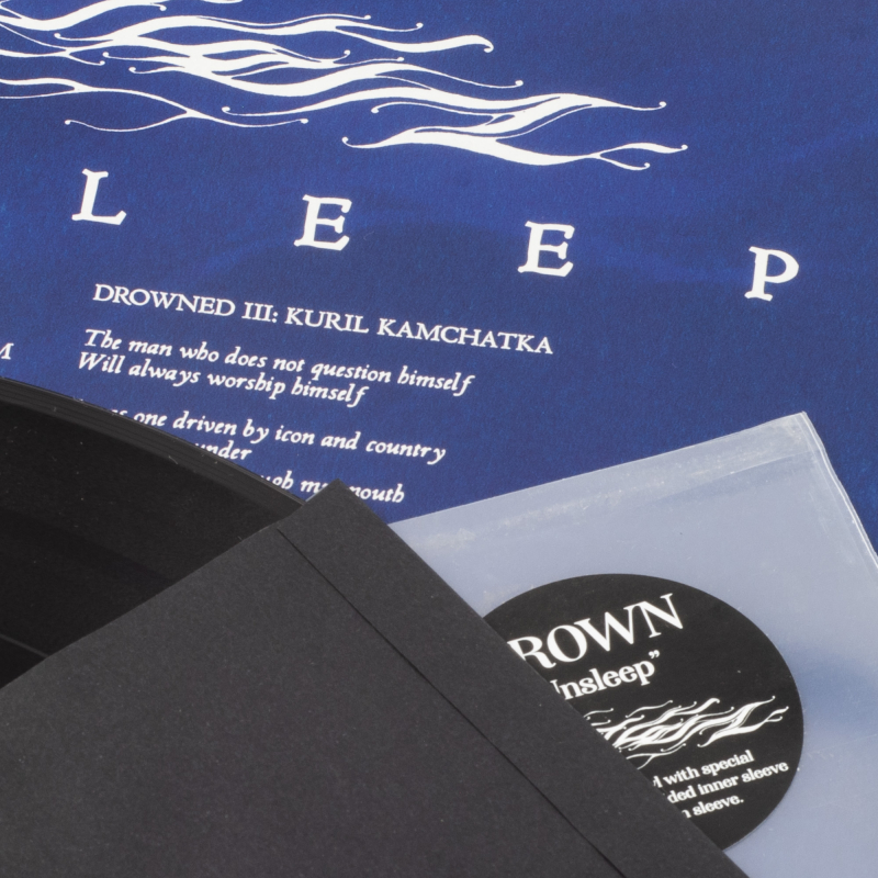 Drown - Unsleep Vinyl LP  |  Black