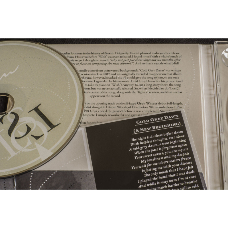 Germ - Loss Vinyl Gatefold LP  |  black