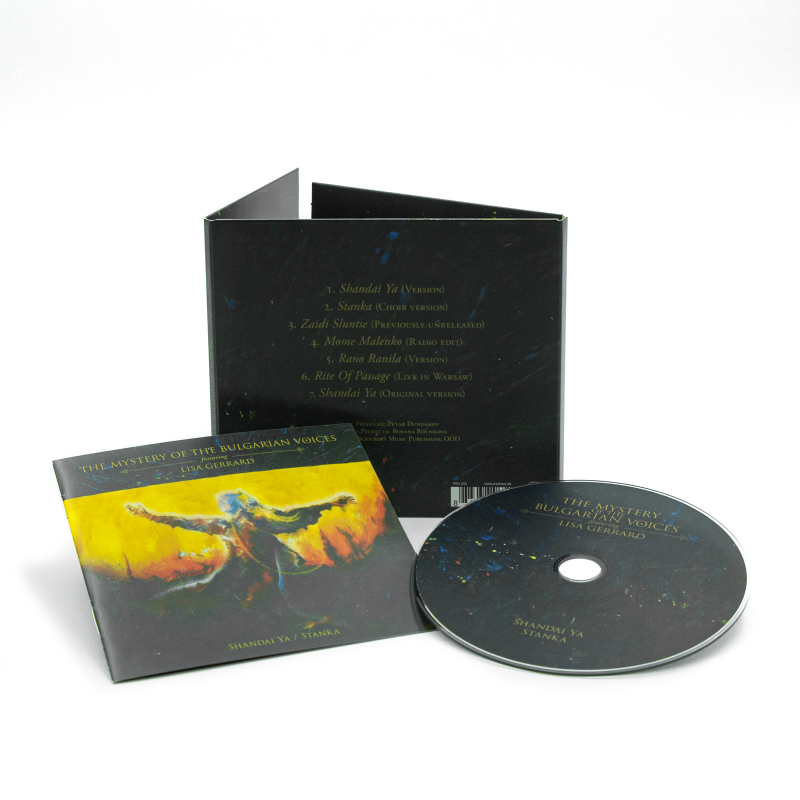 The Mystery Of The Bulgarian Voices feat. Lisa Gerrard - Shandai Ya / Stanka CD Digipak