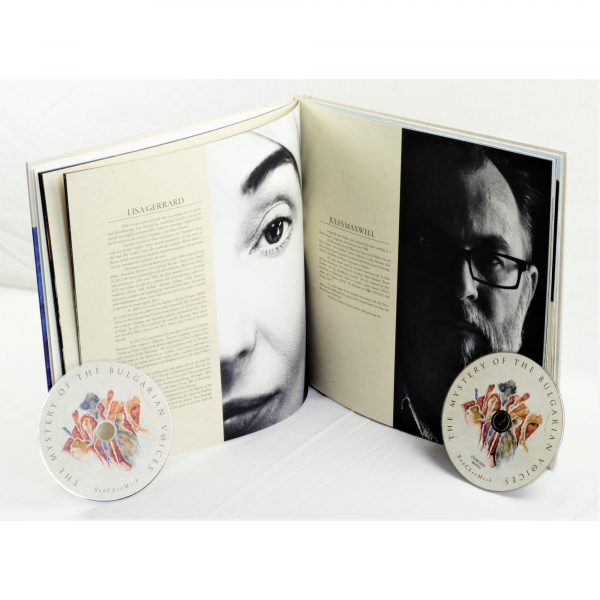 The Mystery Of The Bulgarian Voices feat. Lisa Gerrard - BooCheeMish Artbook 2-CD | PRO 228 LU