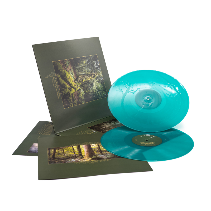 Empyrium - Über den Sternen Vinyl 2-LP Gatefold  |  Green Transparent