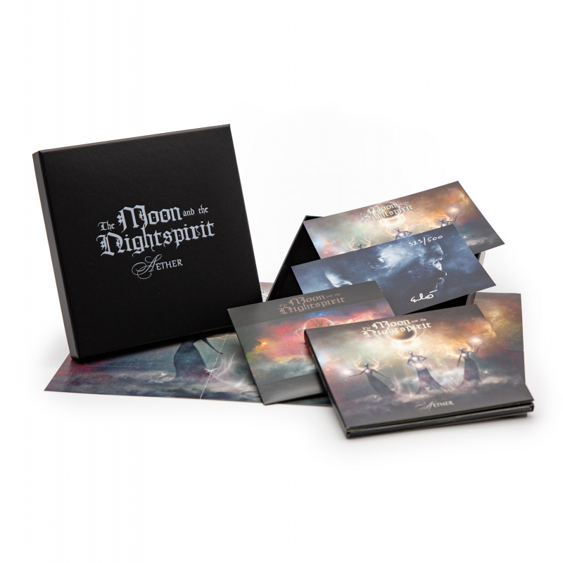 The Moon And The Nightspirit - Aether CD-2 Box