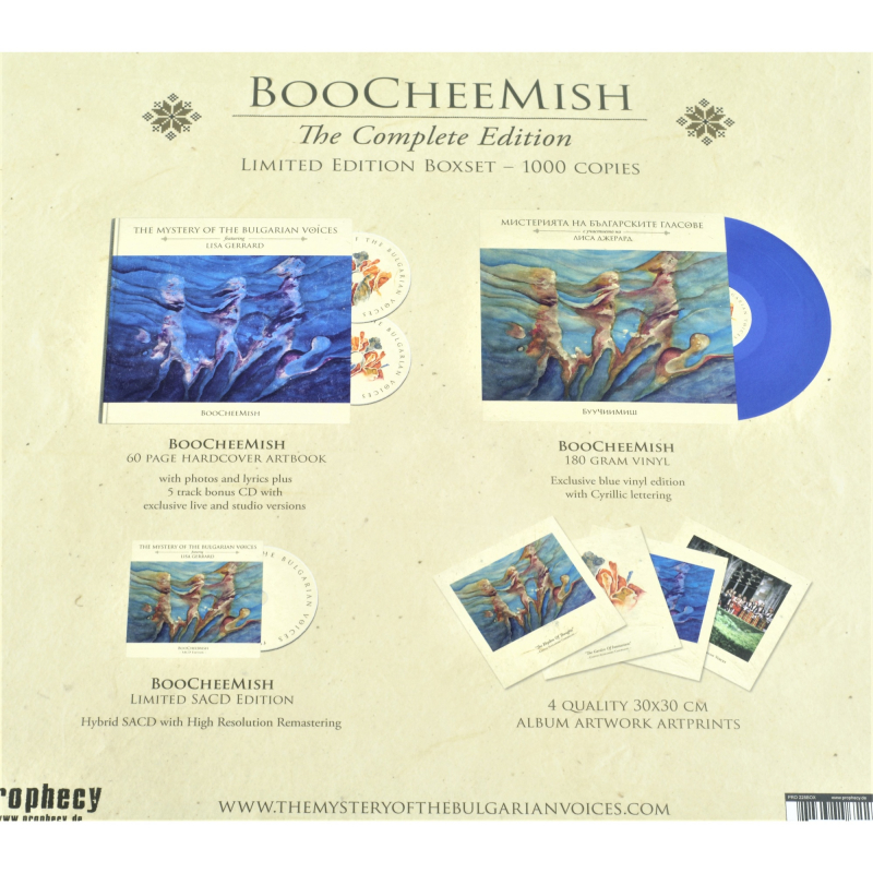 The Mystery Of The Bulgarian Voices feat. Lisa Gerrard - BooCheeMish Complete Box  |  PRO 228 BOX