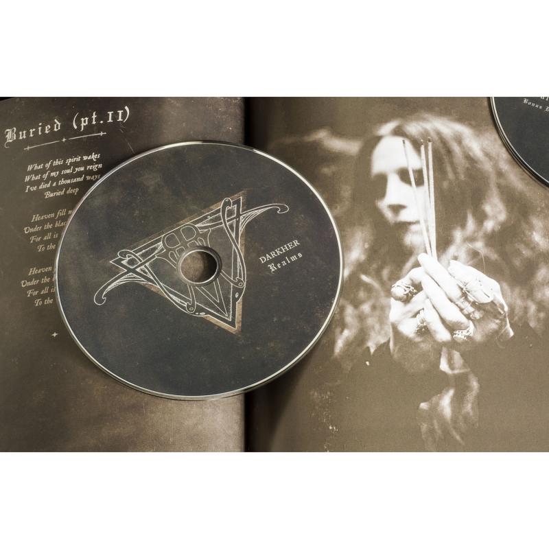 Darkher - Realms Vinyl Gatefold LP     black